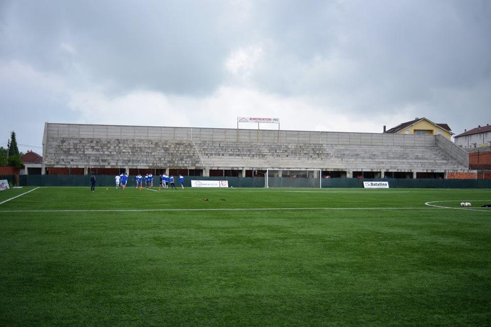 Image result for tribunat e stadiumit llapi